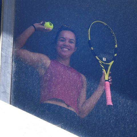 tennis aus open health virus