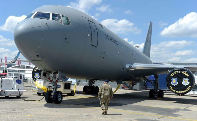 france transport aviation airshow us boeing tanker