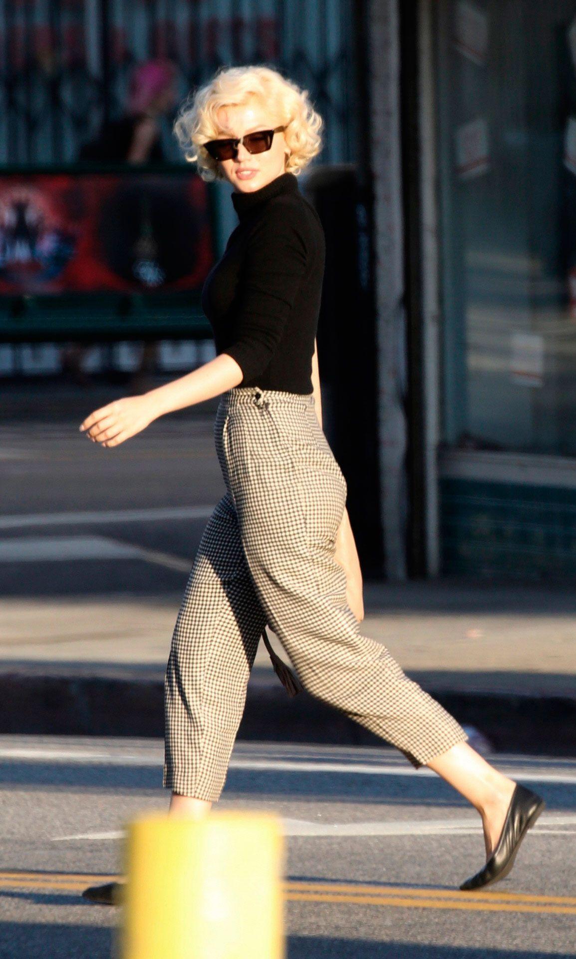 Ana de Armas... ¡idéntica a Marilyn Monroe!