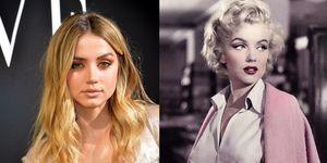 Ana de Armas como Marilyn Monroe en Blonde