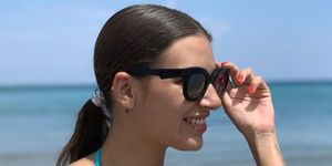 Ana Guerra en la playa