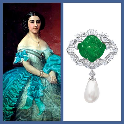 A Rare Natural Pearl That Once Belonged to a Spanish Princess Is For Sale