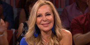Ana Obregón recibe un tierno mensaje de Micky Molina en el debate de 'Lazos de sangre'
