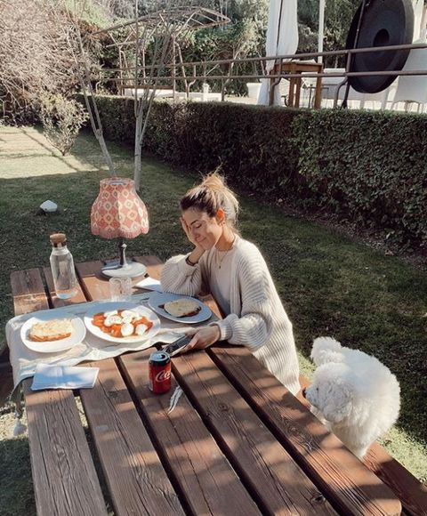 Table, Meal, Picnic, Backyard, Breakfast, Sitting, Outdoor table, Brunch, Recreation, Lunch,