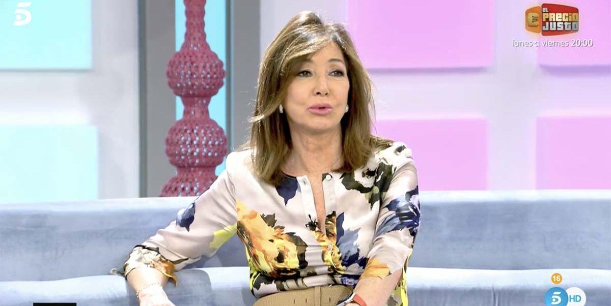 Ana Rosa Quintana muestra su apoyo a Rocío Flores