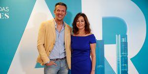 Ana Rosa Quintana y Joaquín Prat