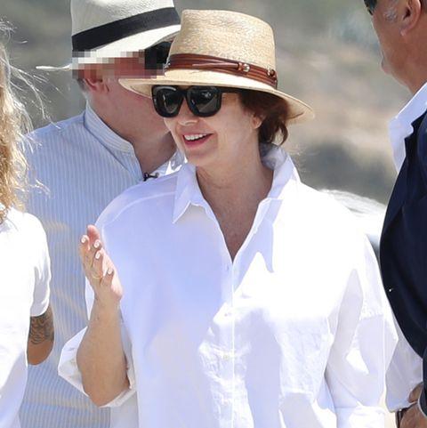 Ana Rosa Quintana vacaciones en Ibiza