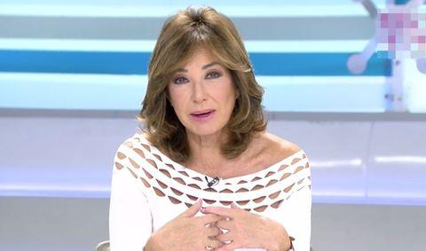 ana rosa quintana, 'regañina' en directo por uno de sus reportajes en la isla de la palma