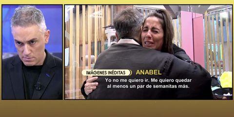 Anabel Pantoja, El tiempo de descuento, Kiko Hernández, Visita
