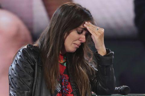 Anabel Pantoja llora