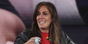 Anabel Pantoja llora en el plató de GH VIP 7 tras su expulsión