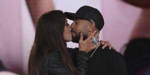 Anabel Pantoja besa a su novio, Omar Sánchez, en su reencuentro tras su expulsión de GH VIP 7