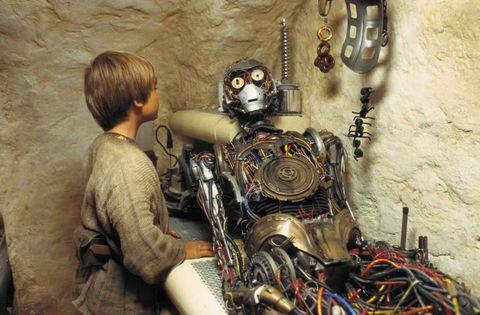 Star Wars Anakin C3PO