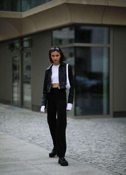 giacche pelle moda primavera estate 2021