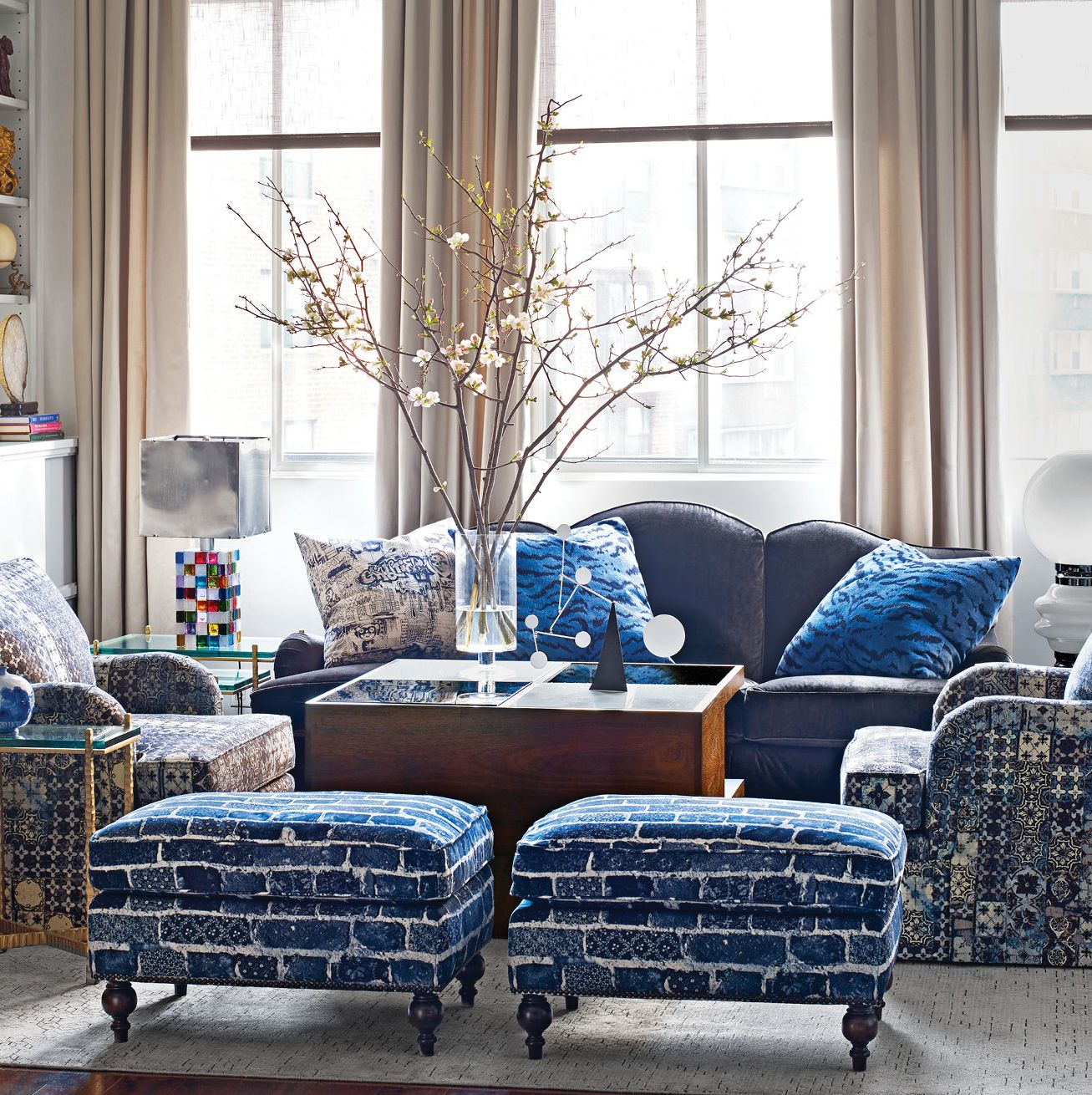 Urban Cowboy Meets Old World New York in a Textile Heir's Apartment