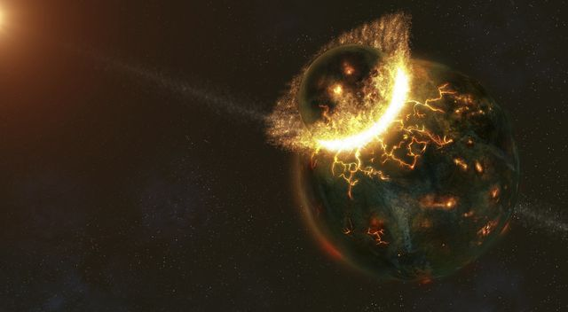 ancient earth impact