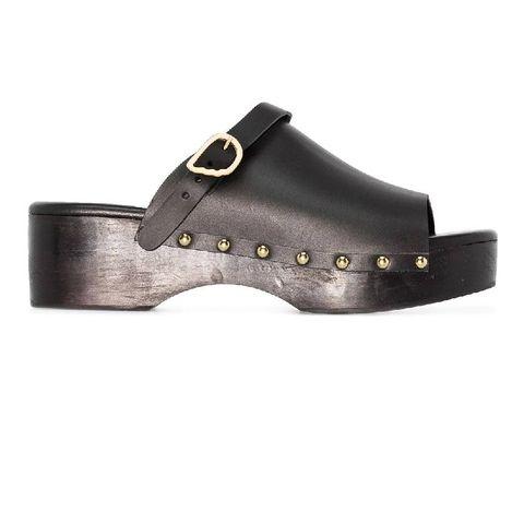 ancient greek sandals sandalen met houten hak