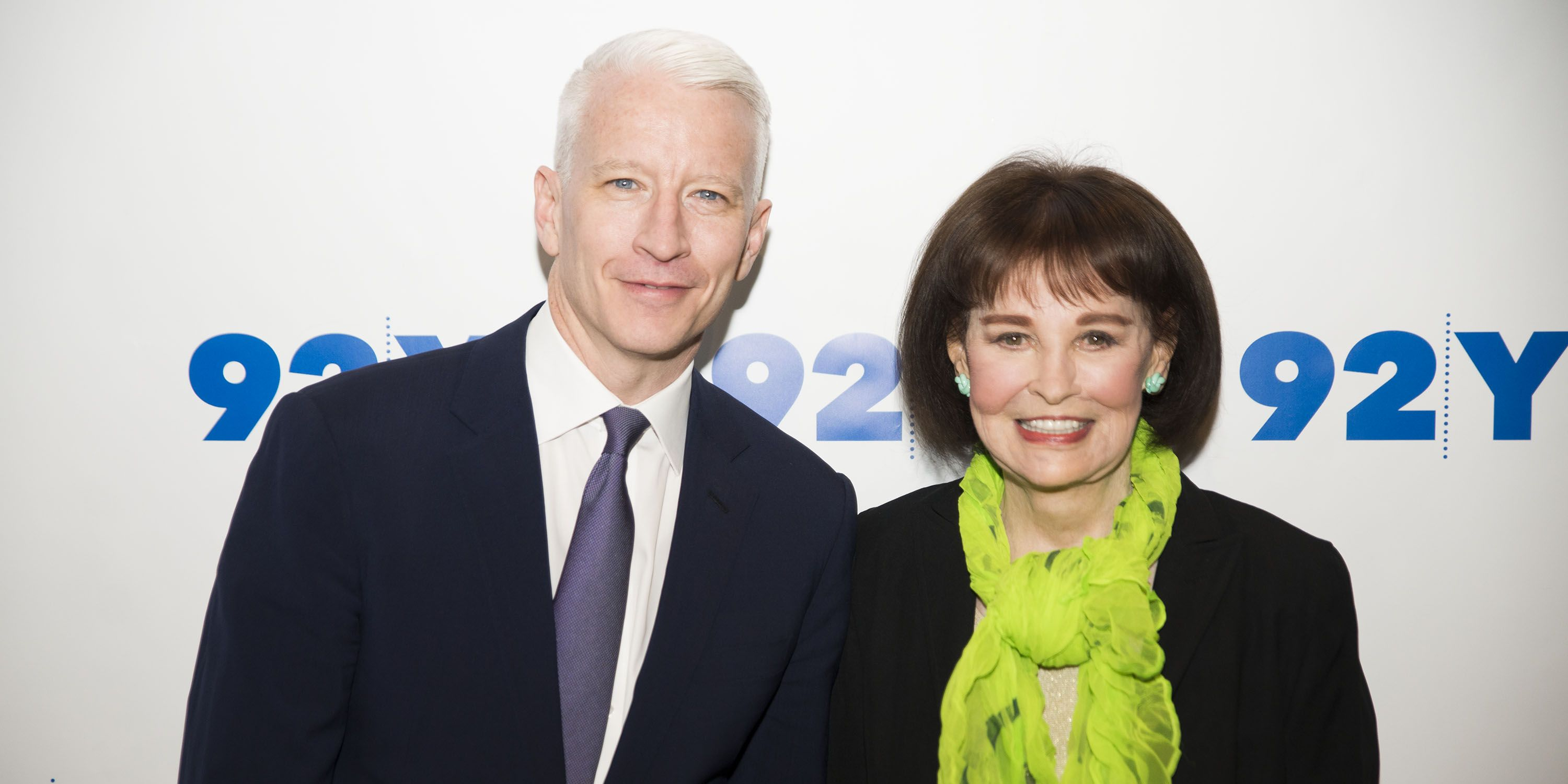 Anderson Cooper Pays Tribute to His Mother Gloria Vanderbilt on Her 95th Birthday