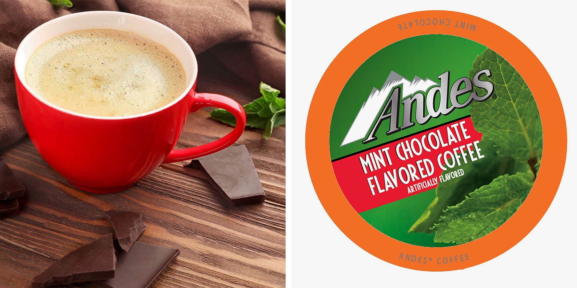 You Can Get Andes Crème de Menthe-Flavored Coffee on Amazon