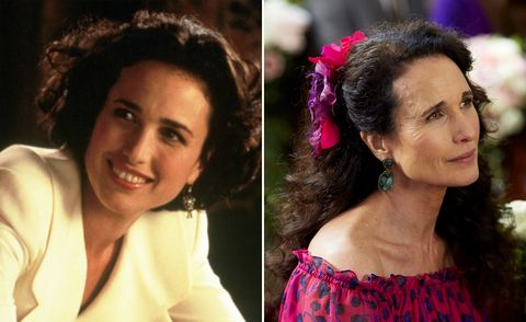 One Red Nose Day and a Wedding, Andie MacDowell