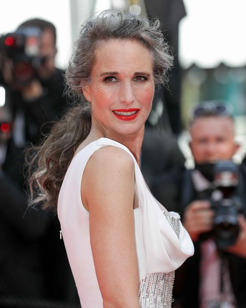andie macdowell at the 74th annual cannes film festival