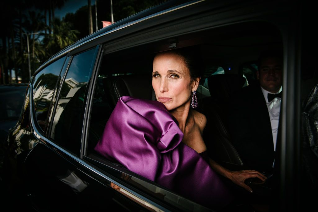 21 Photos of Andie MacDowell's Most Fashionable Looks