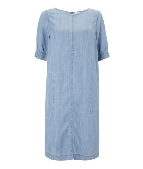 And/Or John Lewis Blue Sleeve Detail Dress, best summer dresses