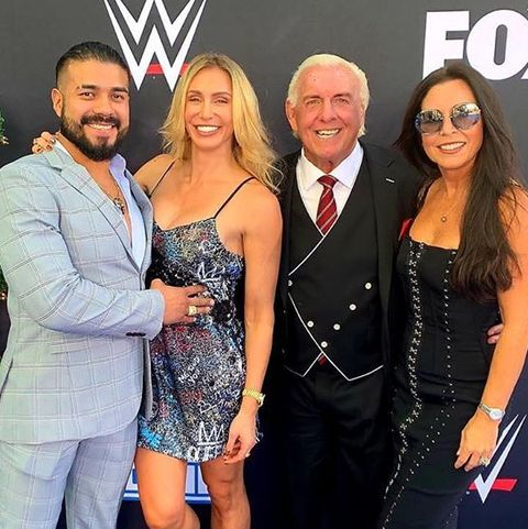 Wwe S Andrade Was Nervous Meeting Charlotte S Dad Ric Flair