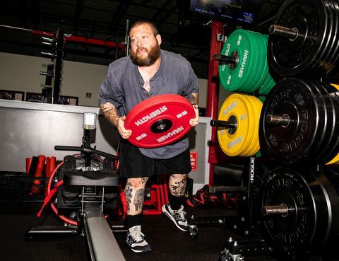action bronson with weights