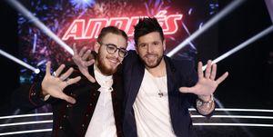 Pablo López y Andrés Martín ganan La Voz