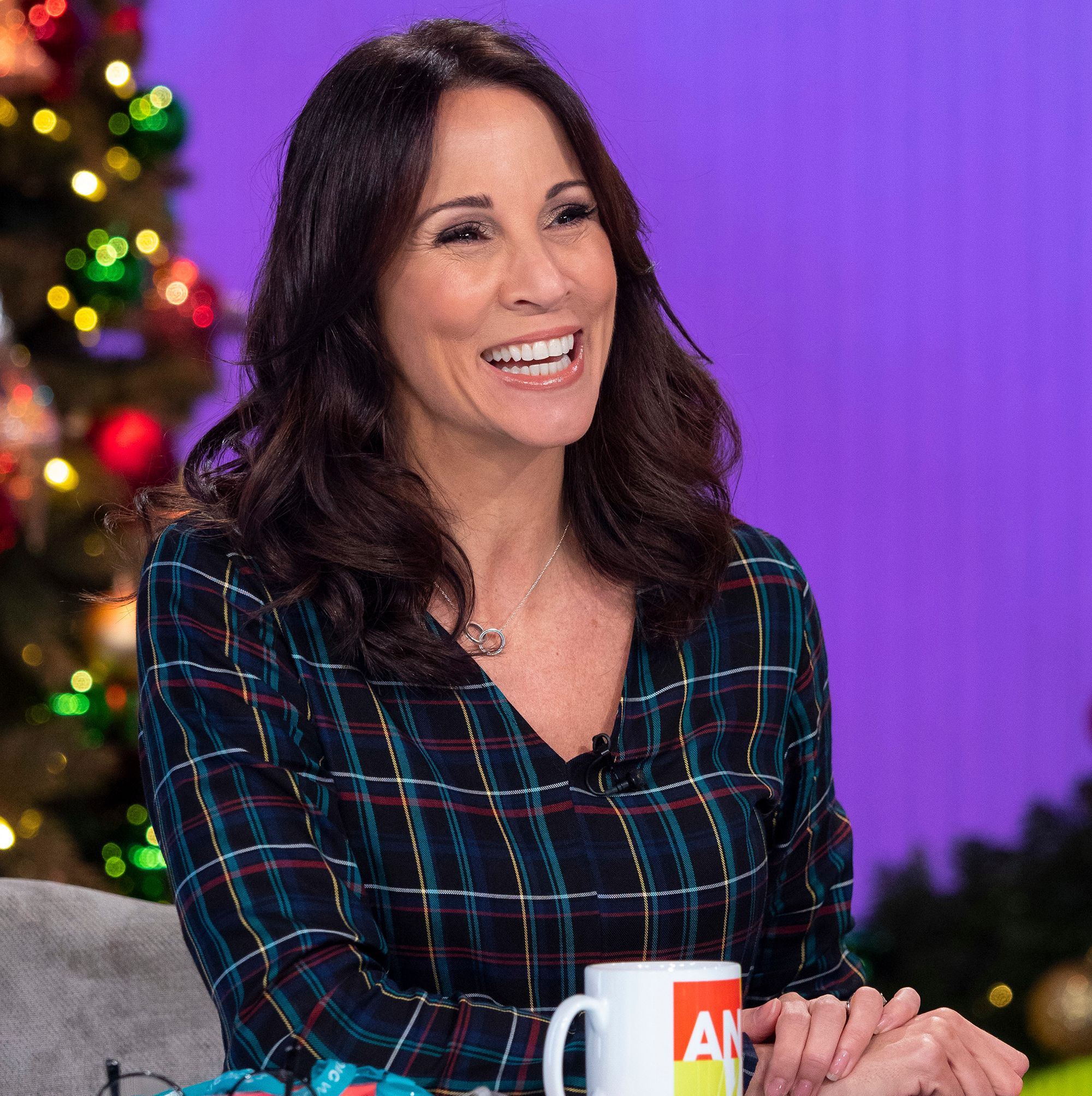 Andrea McLean's super chic £30 dress is in the hottest print of the season