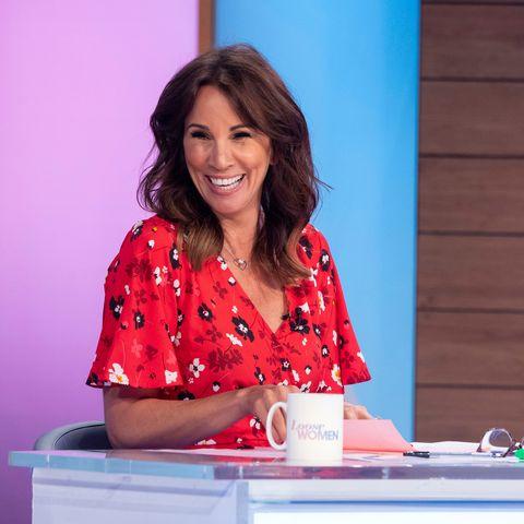 Andrea McLean wows in £13 Studio dress