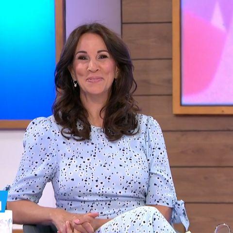 get andrea mclean's lovely monsoon dress for £35
