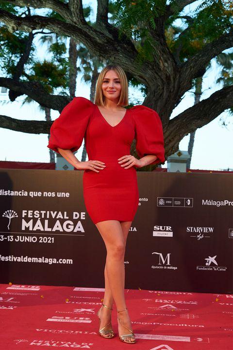 alfombra roja del festival de málaga
