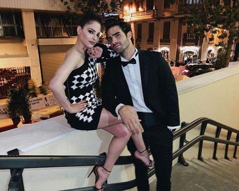 Andrea Duro y Juan Betancourt