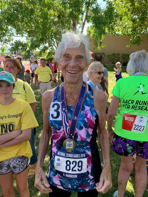 85-Year-Old Runner Who Keeps Racking Up Medals: 'It's My Job to Get People Moving'
