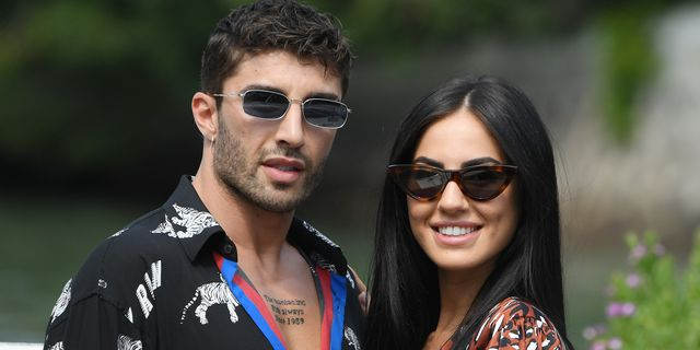 venice, italy   august 31 andrea iannone and giulia de lellis arrive at the 76th venice film festival on august 31, 2019 in venice, italy photo by pascal le segretaingc images,