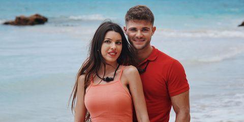 Andrea e Ismael Isla de las Tentaciones