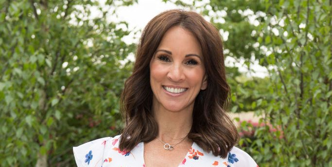 420b3ba63113 Andrea McLean stuns in bright yellow Monsoon dress - and it's on sale
