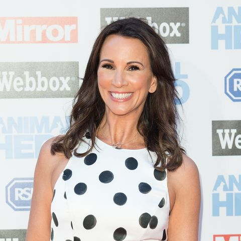 Andrea McLean Office animal print boots