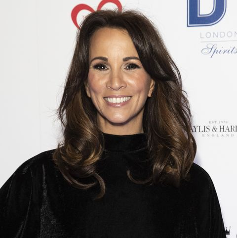 andrea mclean shares photo of parents in the snow