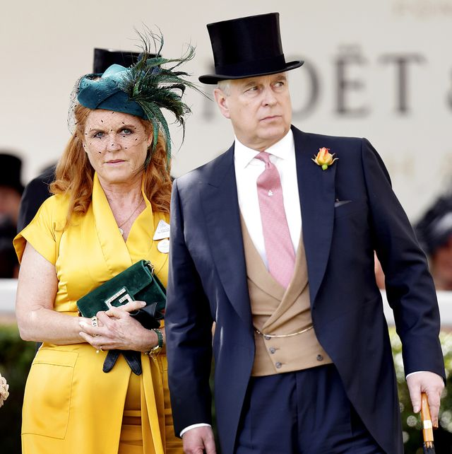 Andrés de Inglaterra y Sarah Ferguson