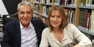 Andrés Pajares y su novia, Juani Gil, boda sorpresa