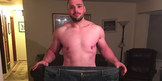 This Guy Lost 270 Pounds and Got Jacked After a Seizure Almost Killed Him