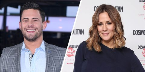 Caroline Flack and Andrew Brady 'are back together following make-or-break getaway to Ibiza'