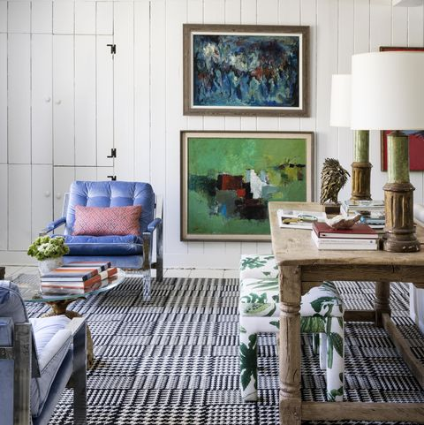 blue, room, living room, interior design, furniture, green, home, house, wall, turquoise,