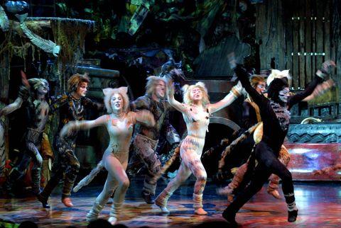 Andrew Lloyd Webber's British cast perform Cats, t