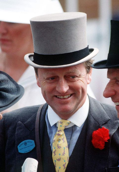 Andrew Parker-bowles At Ascot