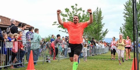 Andrew Belov - 2015 Southern Utah Half Marathon