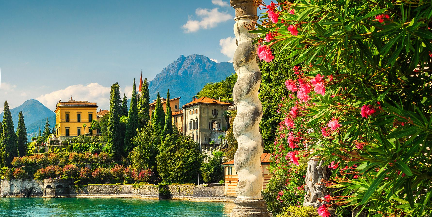 The only way to see Italy's northern lakes, and surrounding gardens, all in one go